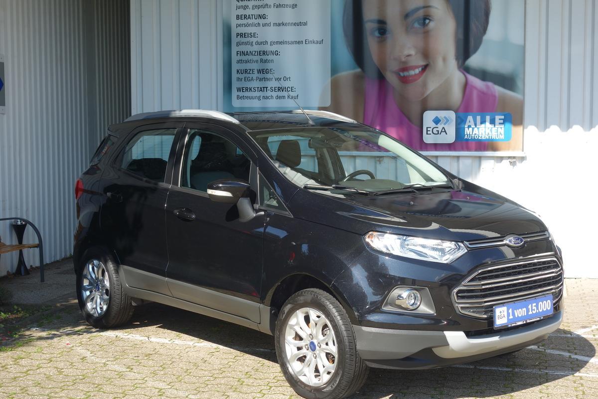 Ford EcoSport 1.0 EB Titanium Plus*PDC*ALU*TEMPOMAT*KEY-FREE*BTH*
