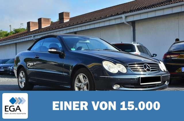 Mercedes-Benz CLK 200 Cabrio Avantgarde BI-XEN LEDER SHZ PDC
