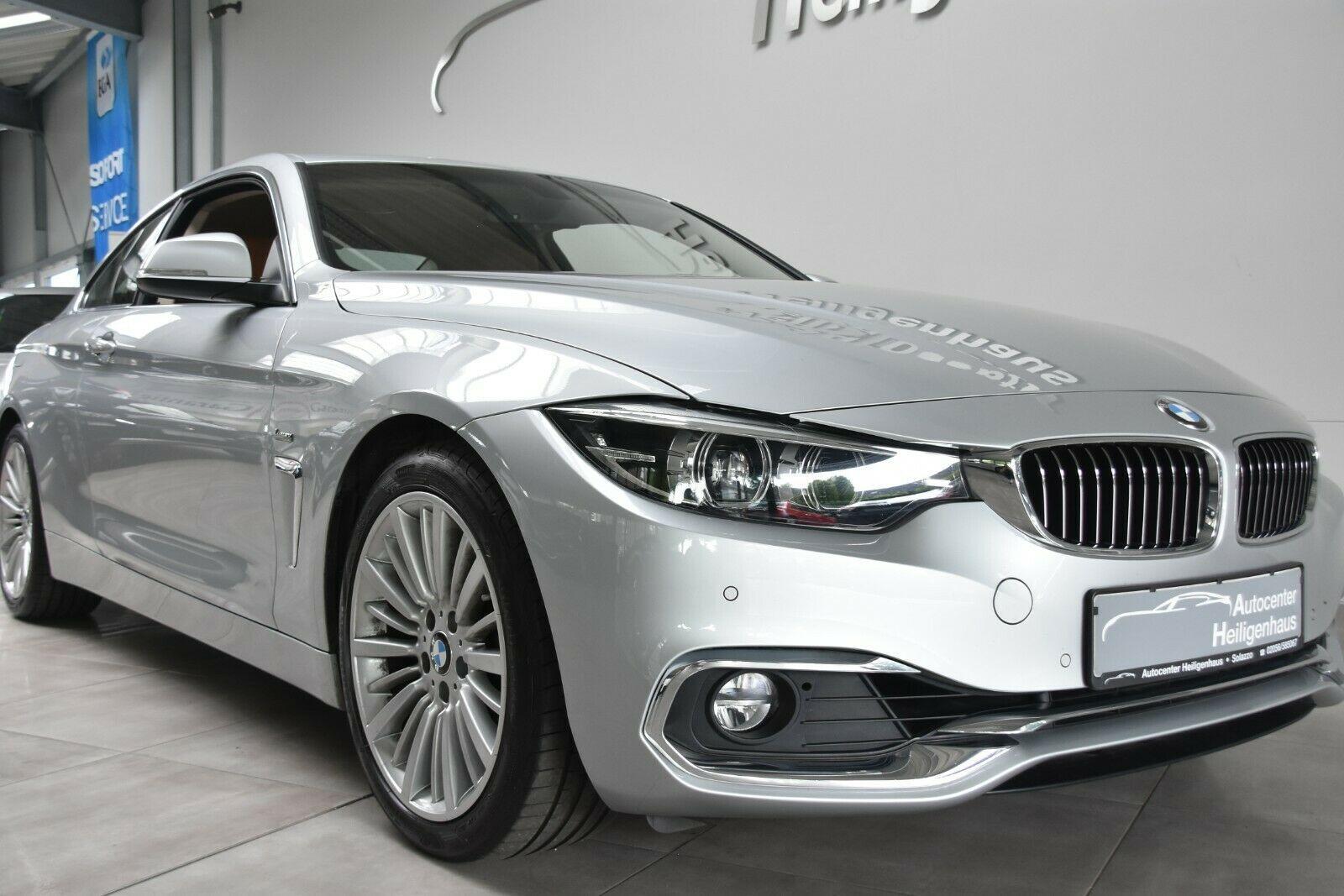 BMW 420i Coupe Luxury Line Leder Navi Kamera LED PDC