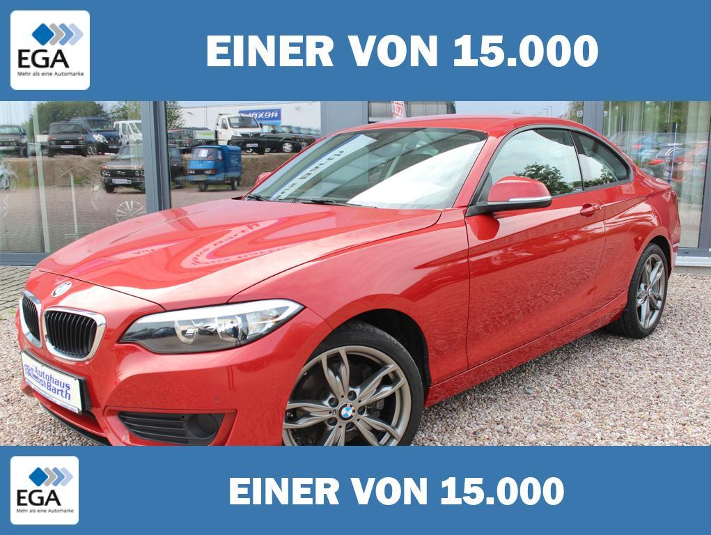 BMW 220i * wenig KM * Klimaaut* PDC * LM* BC*