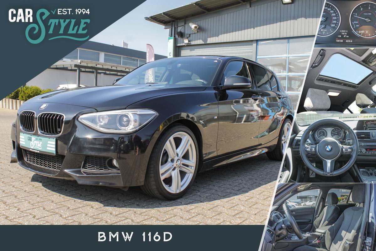 BMW 116d M Sport Paket SHZ SHD Navi LED