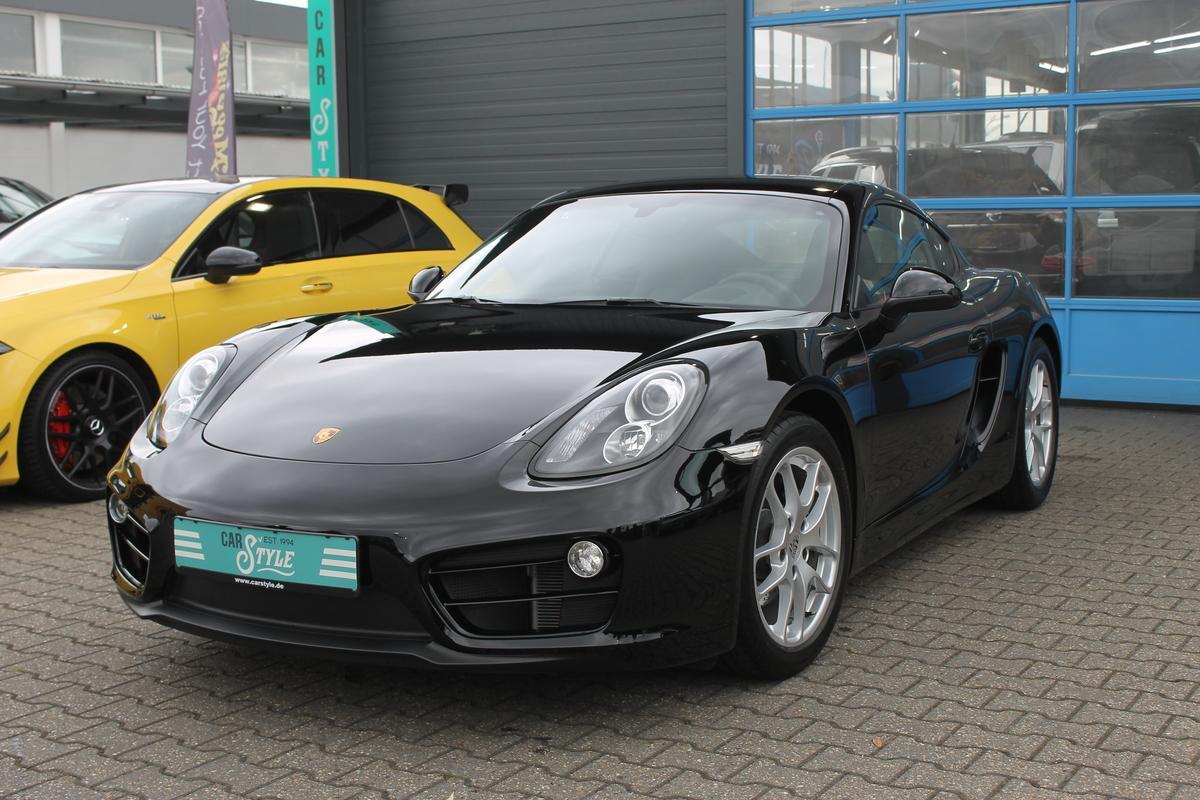 Porsche Cayman Schalter Navi PDC Sound Package Unfallfrei