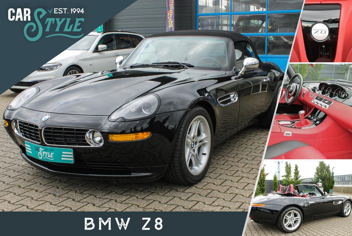 BMW Z8 Roadster Leder Rot/Schwarz Sammlerfahrzeug