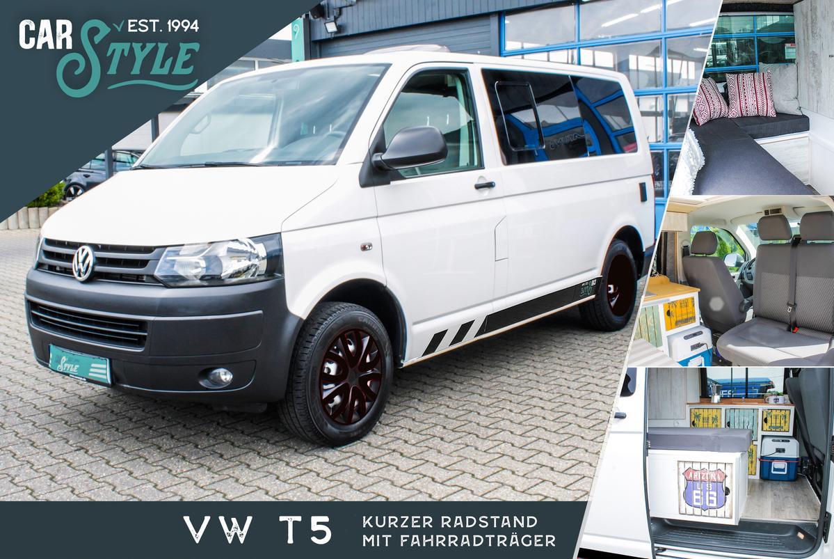 Volkswagen T6.1 California T5 kurz Camper Bett Küche WoMo-Abnahme