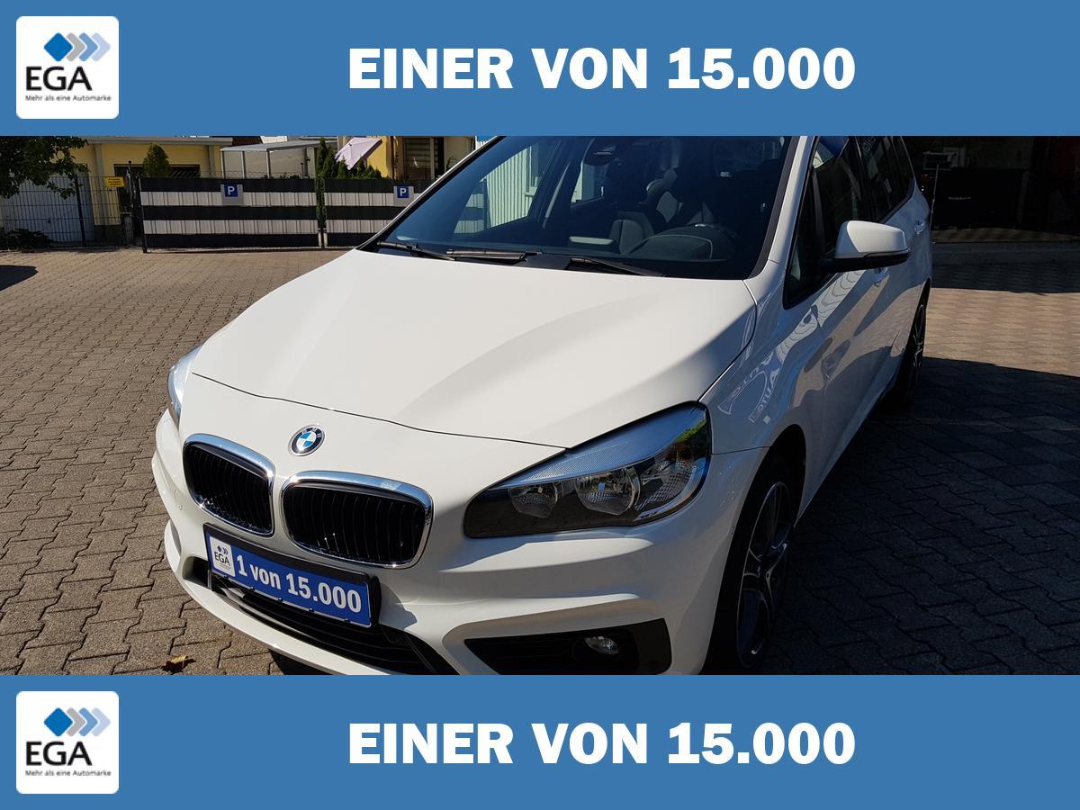 BMW 2er Gran Coupe2er Gran Tourer NAVI 7-Sitzer AHK Tempo.