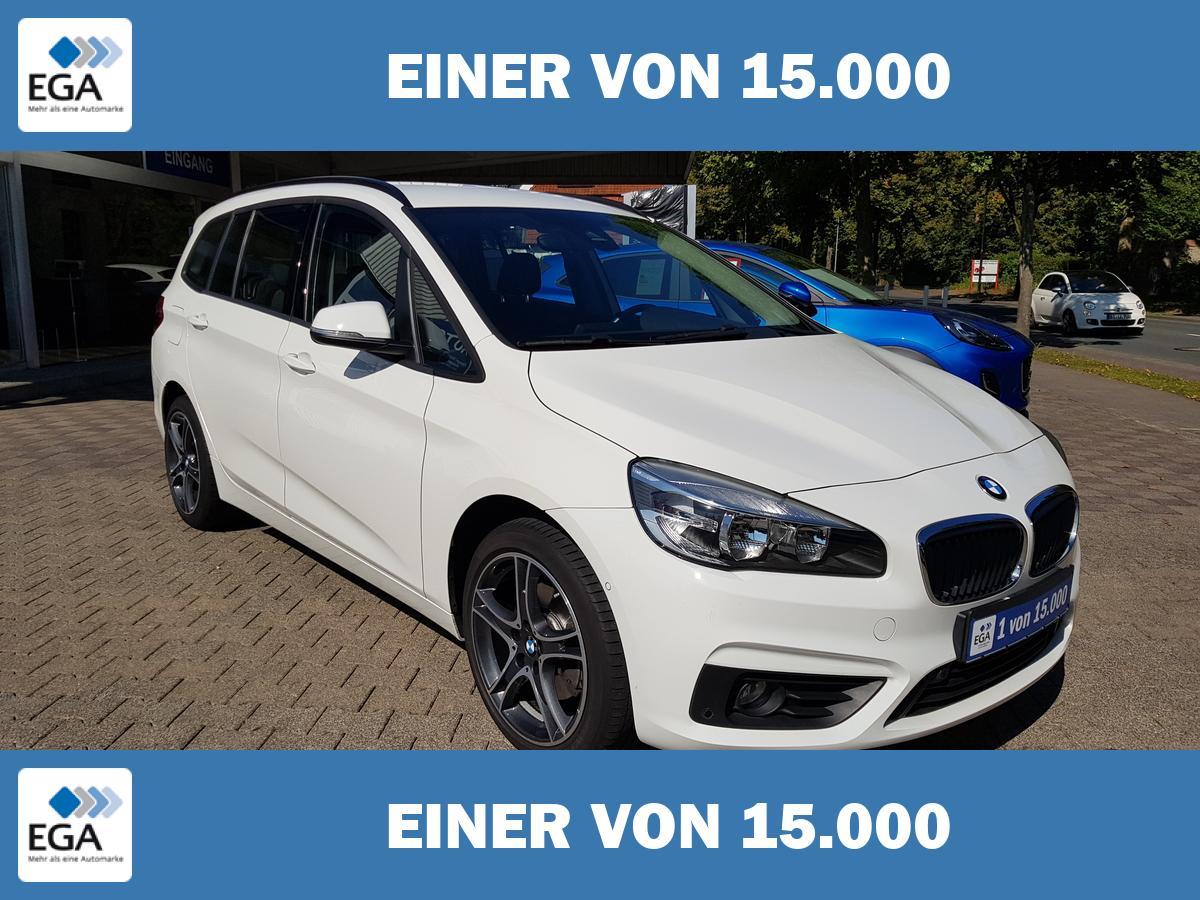 BMW 218 Gran Tourer NAVI 7-Sitzer AHK Tempo.inkl WR