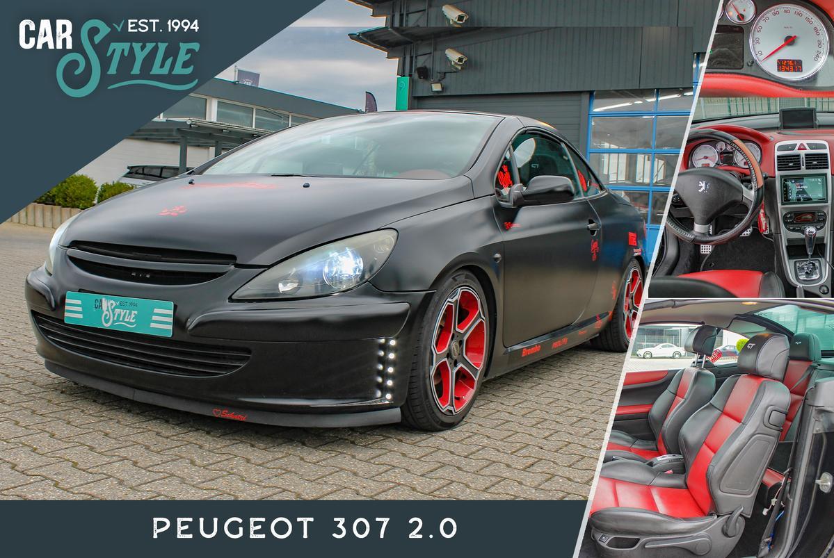 Peugeot 307 2.0 LED LEDER AUTOMATIK NAVI CABRIO