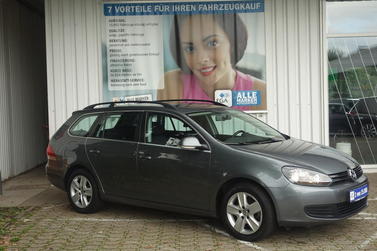 Volkswagen Golf VI VAR. PDC vo+hi*ALU FELGEN*CLIMATRONIC*AUDIO RCD 310