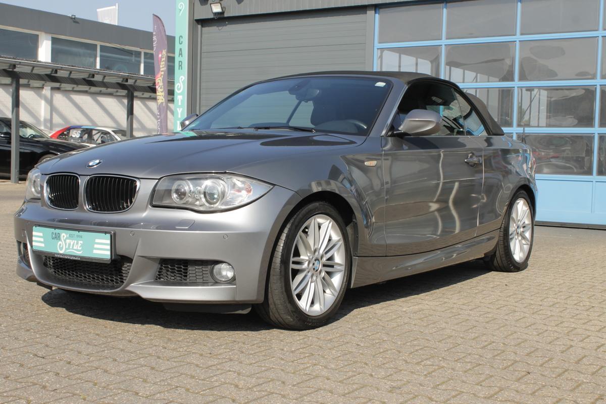 BMW 120d Cabrio M Sport Paket Leder Navi SHZ HiFi