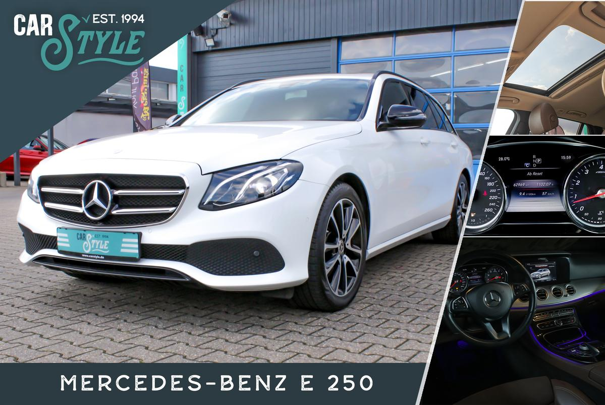 Mercedes-Benz E 250 Avantgarde LED PDC  Pano Navi Ambiente