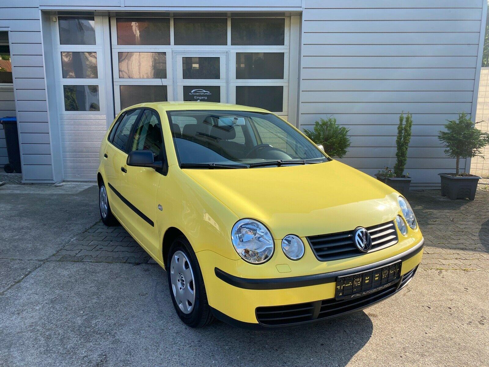 VW Polo 1.2 *1HAND*63000km*HU-NEU+8FACHBEREIFT*