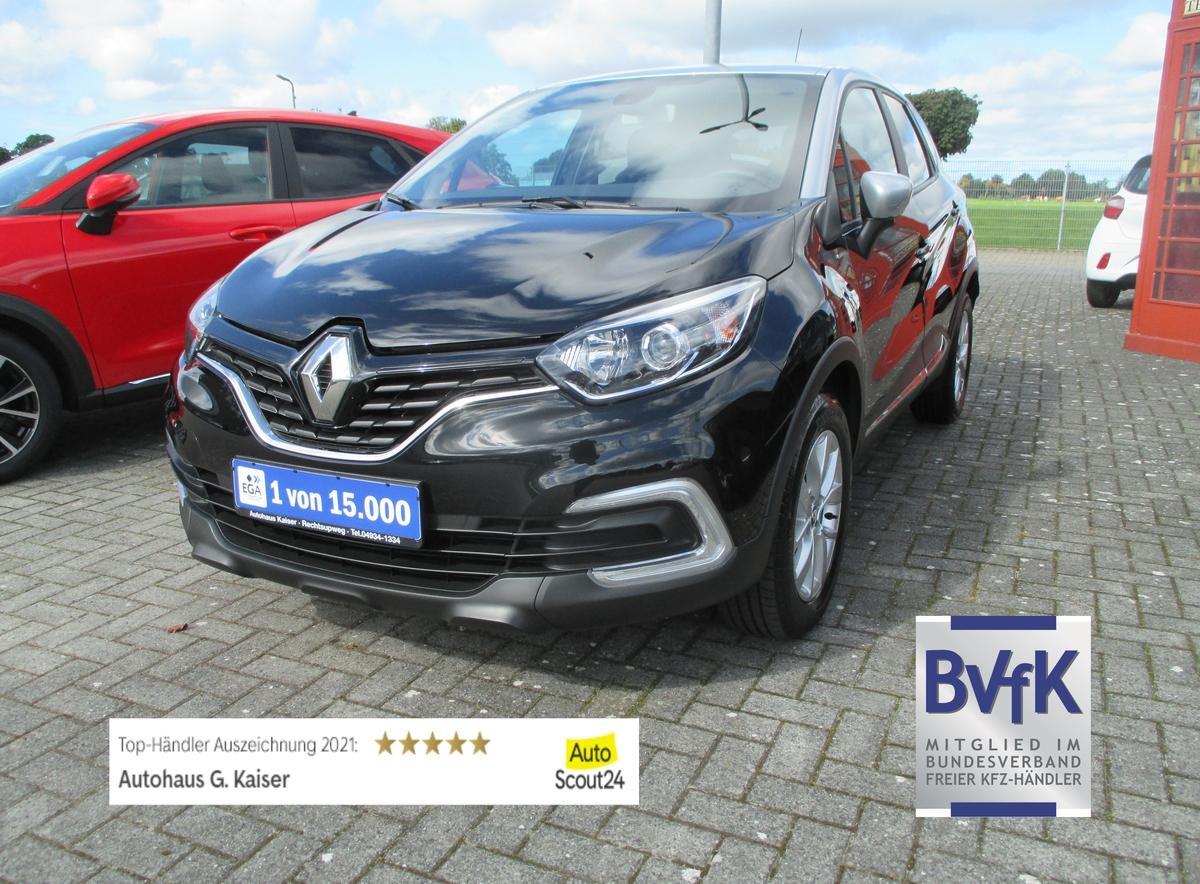 Renault Captur Limited -Klima-Alu-DAB-Tempomat-1. Hand-