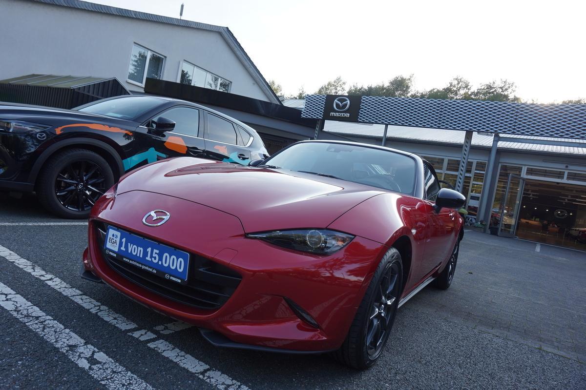Mazda MX-5 Leder, Navi, Klimaautomatik, SHZ, 8-Fach bereift