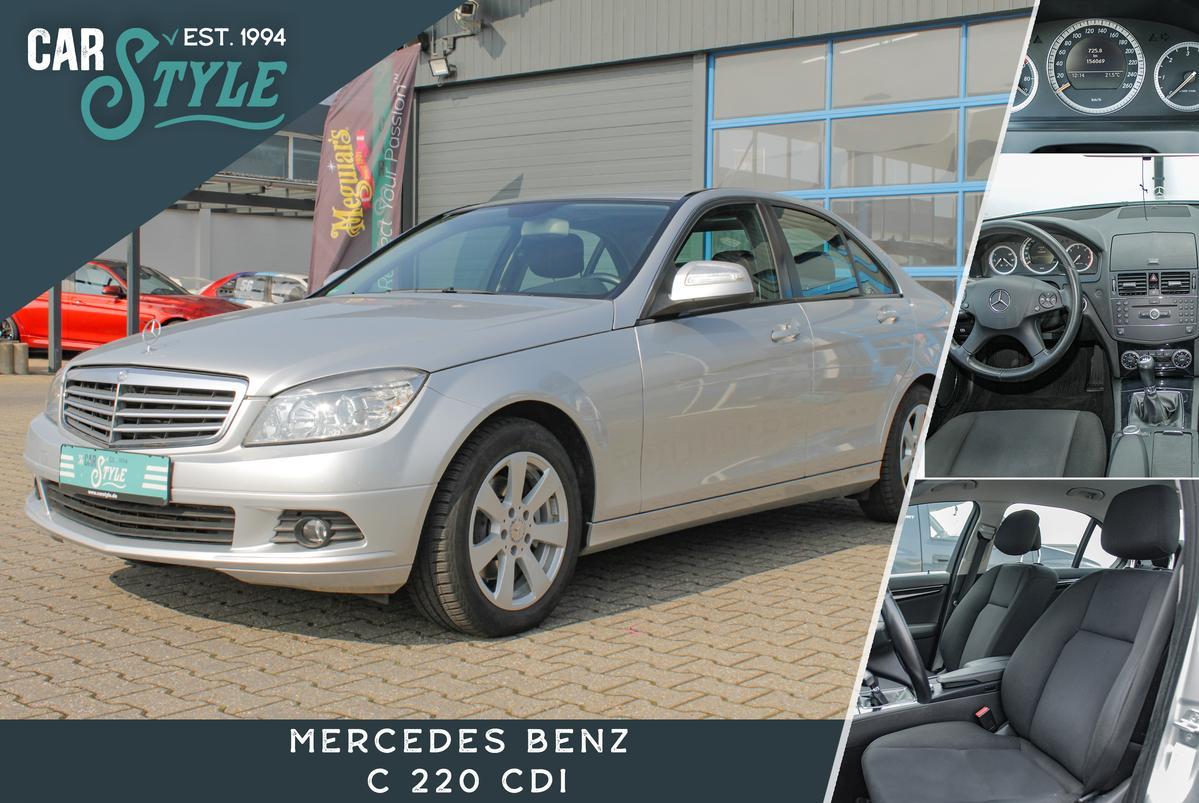 Mercedes-Benz C 220 CDI Classic SHZ Klima
