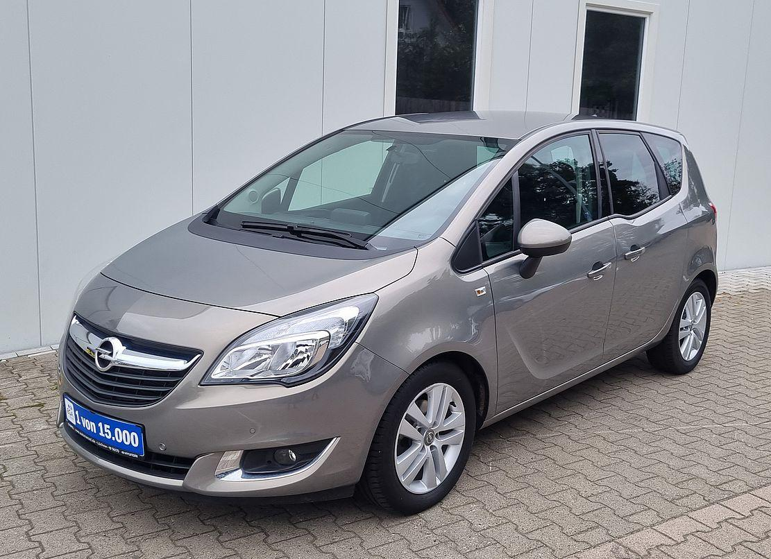 Opel Meriva Edition 1.4 i Turbo Automatik Navi*PDC*Sitz&Lenkhzg