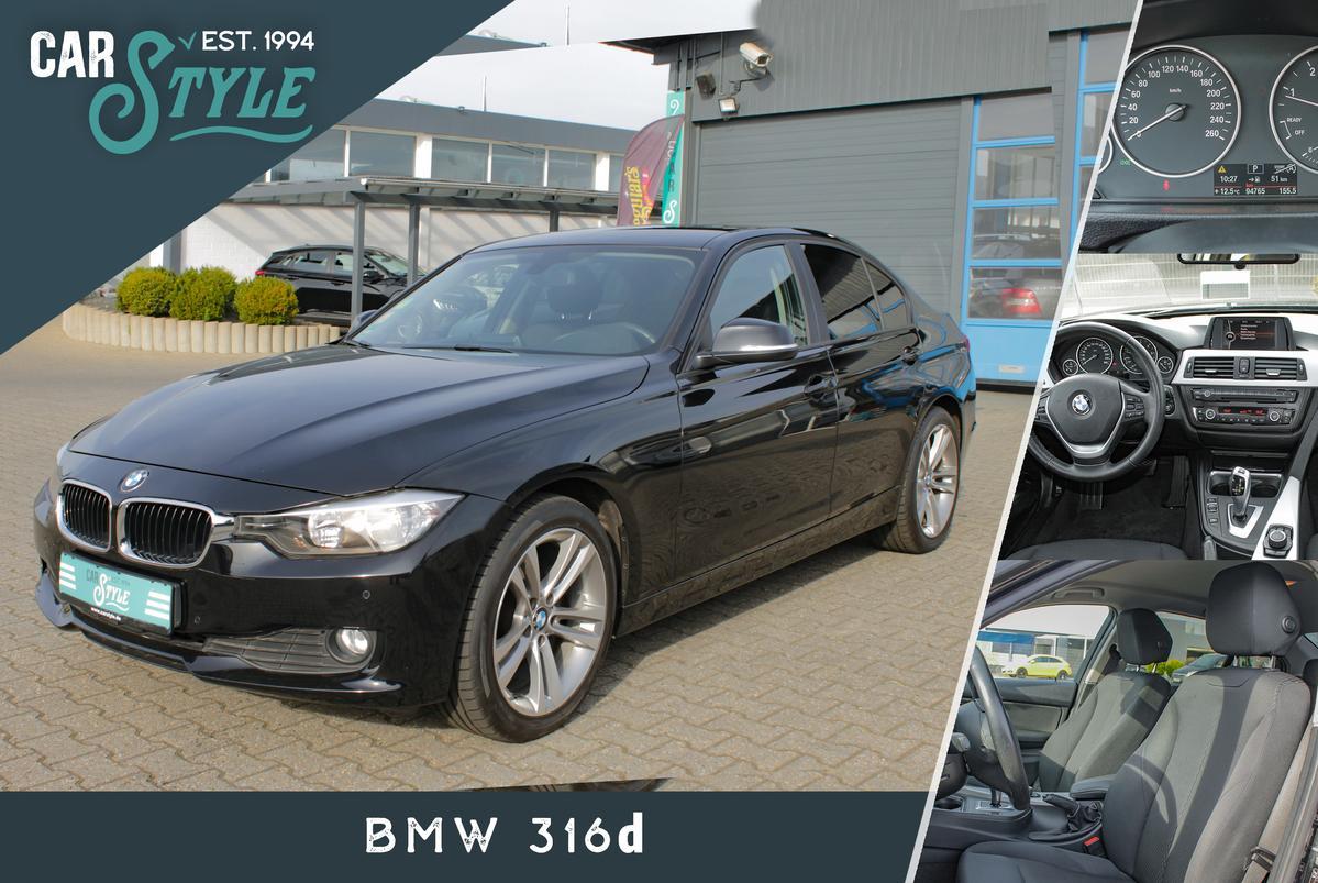 BMW 316d Automatik Klimaut. i Drive AHK PDC SHZ
