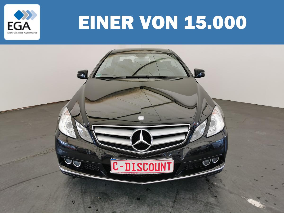 Mercedes-Benz E 250 CDi Coupe Elegance+2.Hand+Leder+Navi+8xAlu+