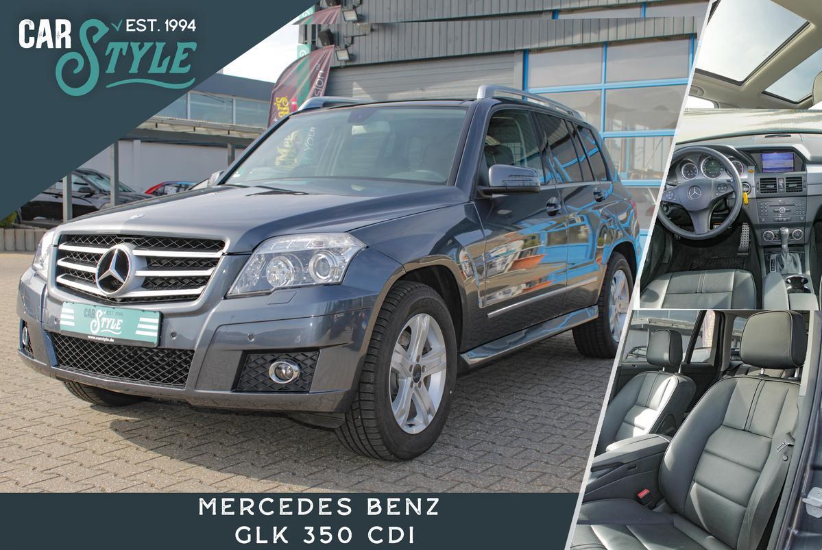 Mercedes-Benz GLK 350 4 Matic Sport Paket LEDER NAVI BI-XENON PANORAMA