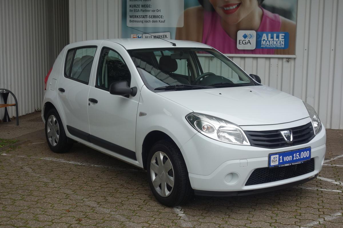 Dacia Sandero 1 HAND*KLIMAANLAGE*BLUETOOTH*MP3*EL FENSTERHEBER