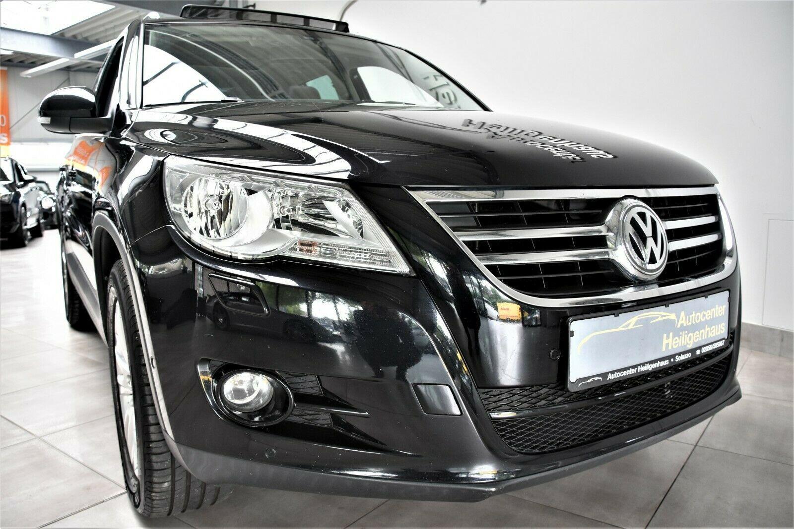 VW Tiguan 2.0 TDI 4Motion Klima Navi ParkAssist AHK