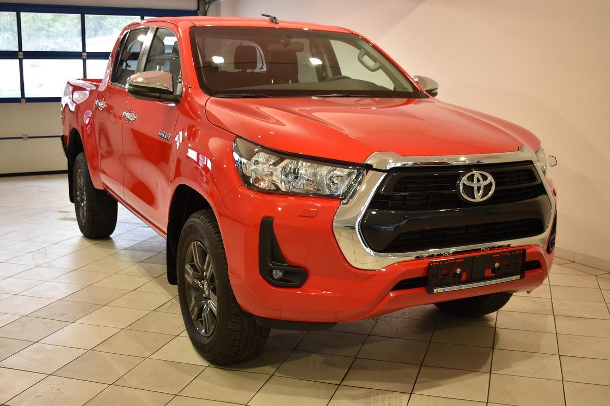Toyota Hilux 2.4D-4D Double Cab 4x4 APP Bluetooth GRA SHZ Neu