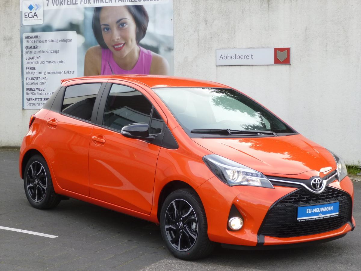 Toyota Yaris 1.33 VVT-i Edition Orange - Sitzhz - Alu - Garantie
