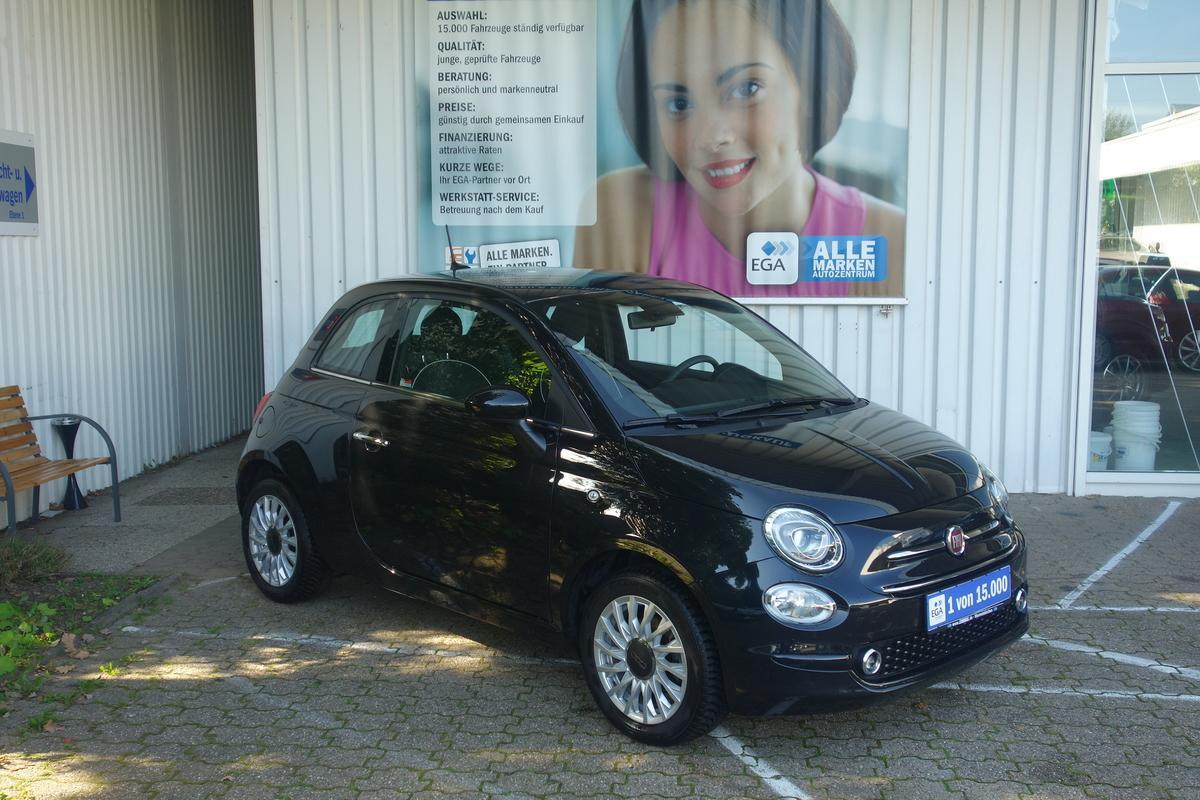 Fiat 500 1,2 8 V LOUNGE NAVI PDC ALU KLIMA TEMPO ALLWETTER