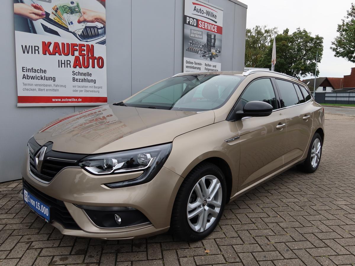 Renault Megane Grandtour TCe 140 EDC Limited *NAV*ALLWETTER*PDC*