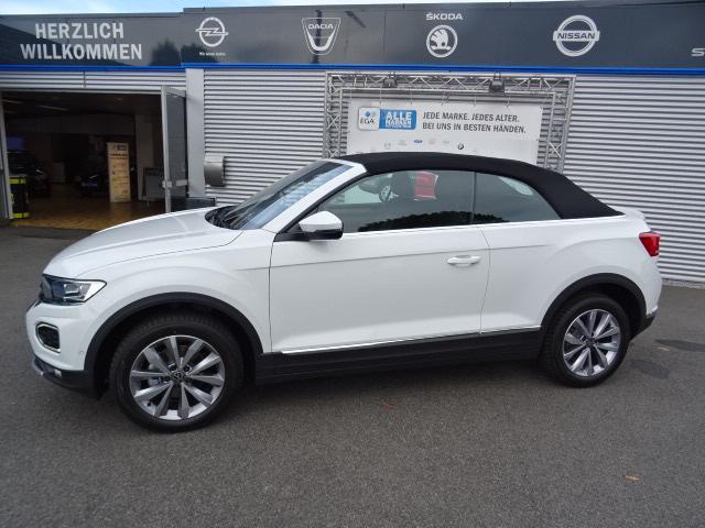 Volkswagen T-Roc CABRIOLET STYLE 1.0 TSI  NAVI*SHZG*LED*PDC*ALU*R-CAM