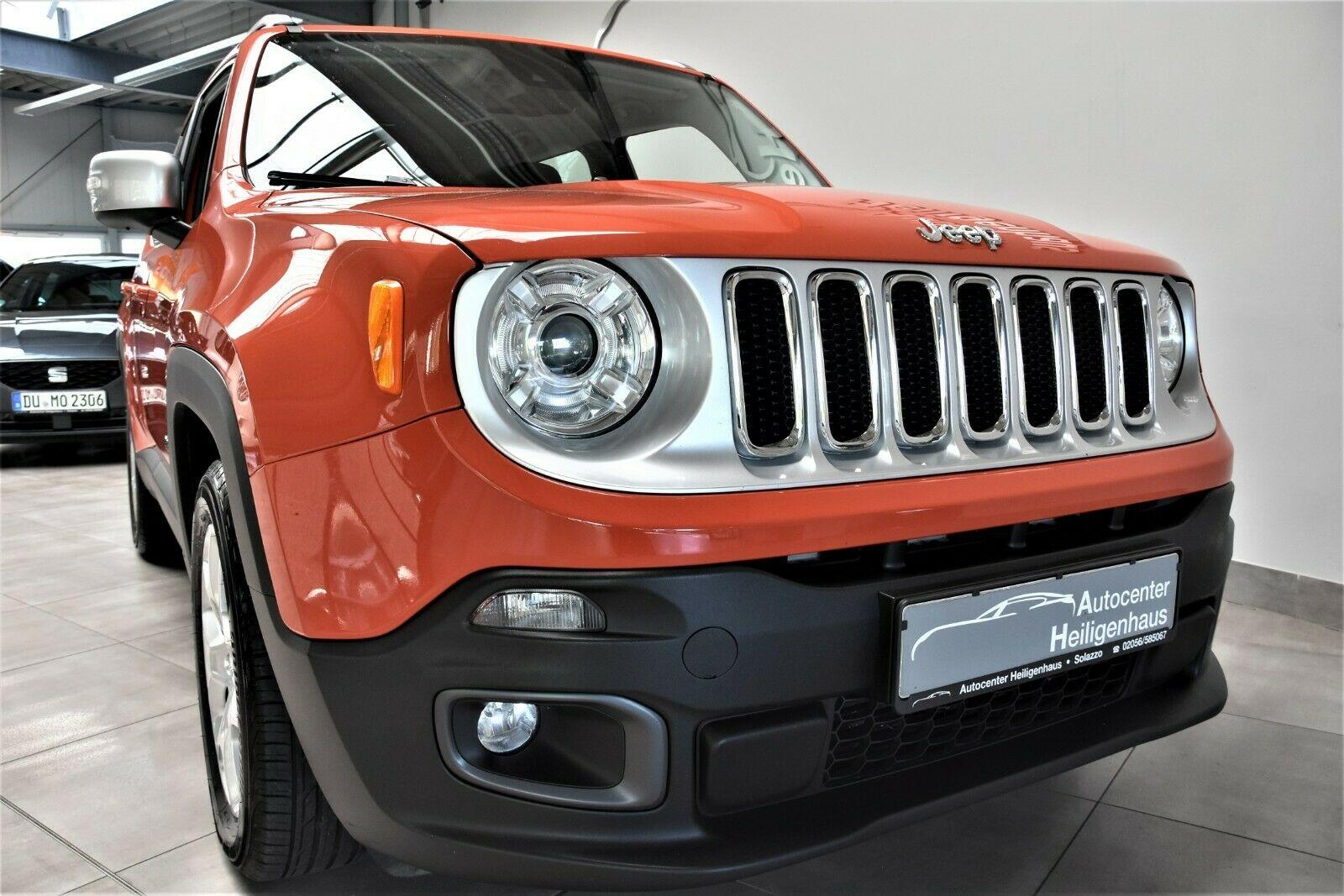 JEEP Renegade 1.6 Limited UConnect Winter Paket PDC