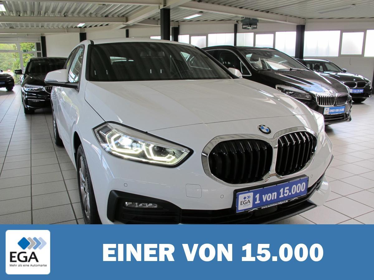 BMW 118i,Advantage,AHK,LED,Kamera,PDC,Sitzh.,Klimaautom.