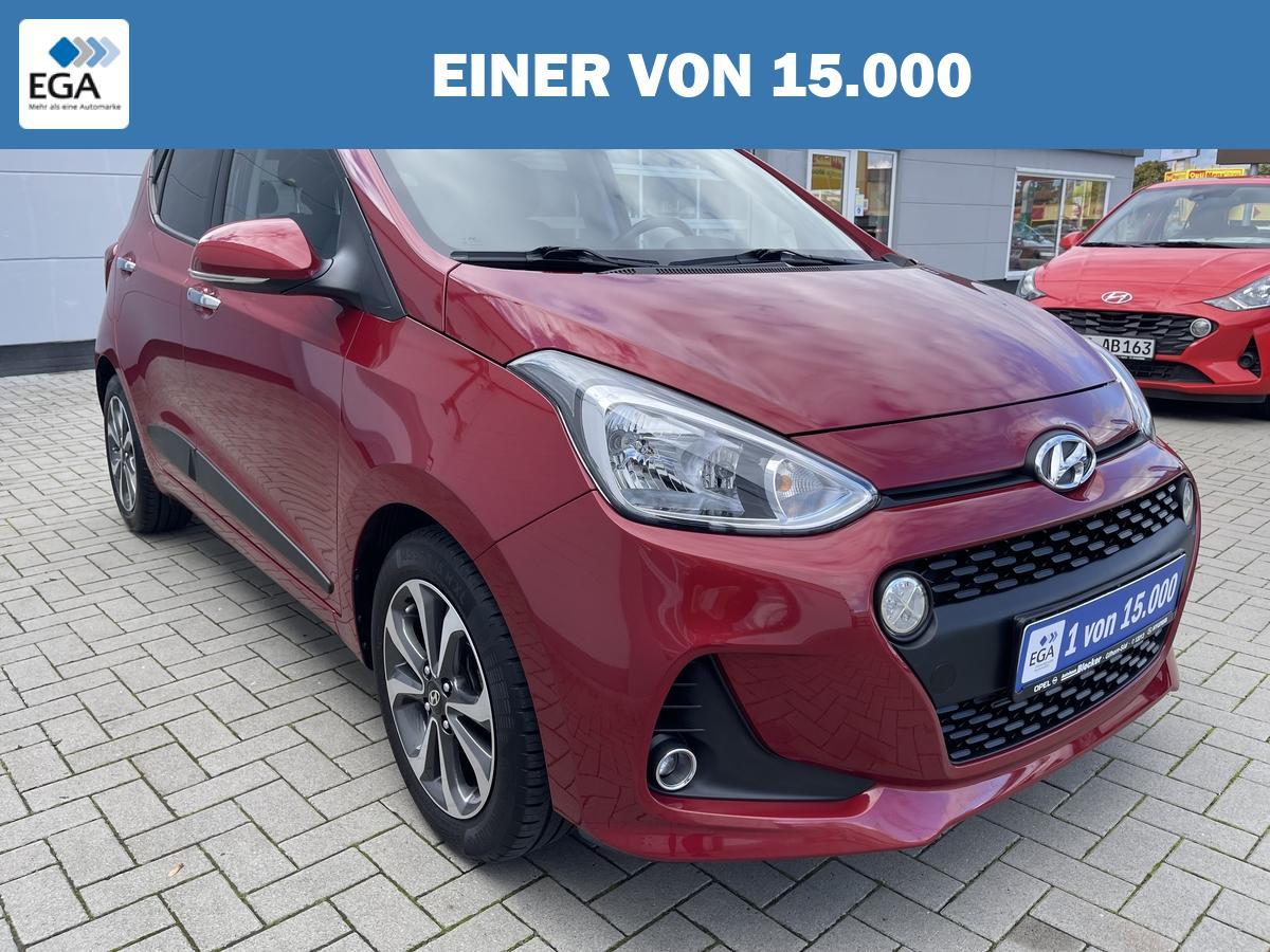 Hyundai i10 1.2 Style*Premium Paket*Navi*Smart Key*Klima*Winterräder