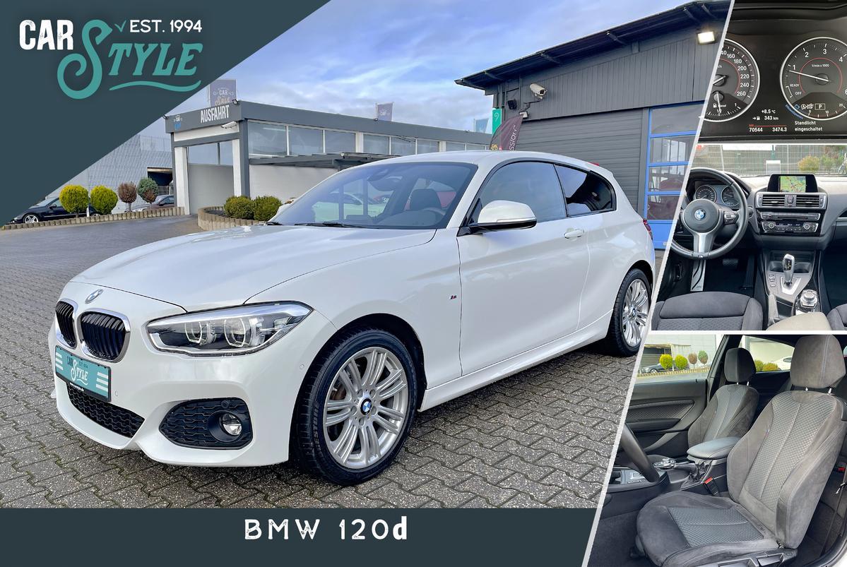 BMW 120d Aut. M Sport Paket HiFi LED SHZ LH Alcantara