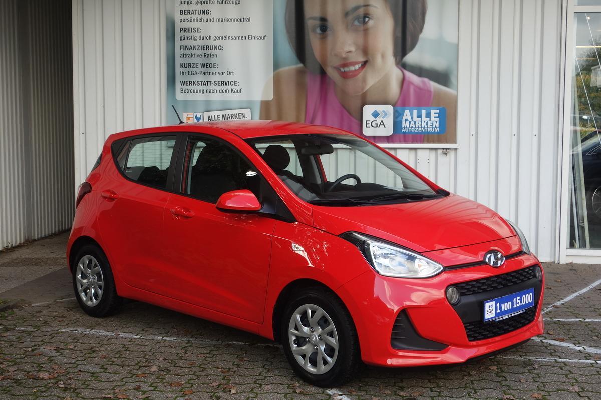 Hyundai i10 1.2 Trend KLIMA*SHZG*LKRDHZG*EFH*FB-ZV*MP3*USB*