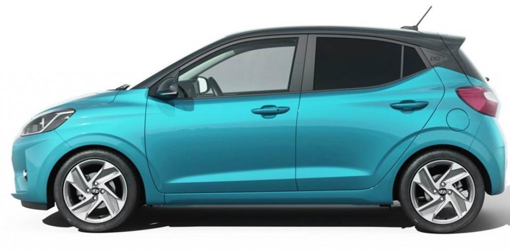 Hyundai i10 MJ20 1.0 AT 4sitze Apple Android klima shzg P.sen
