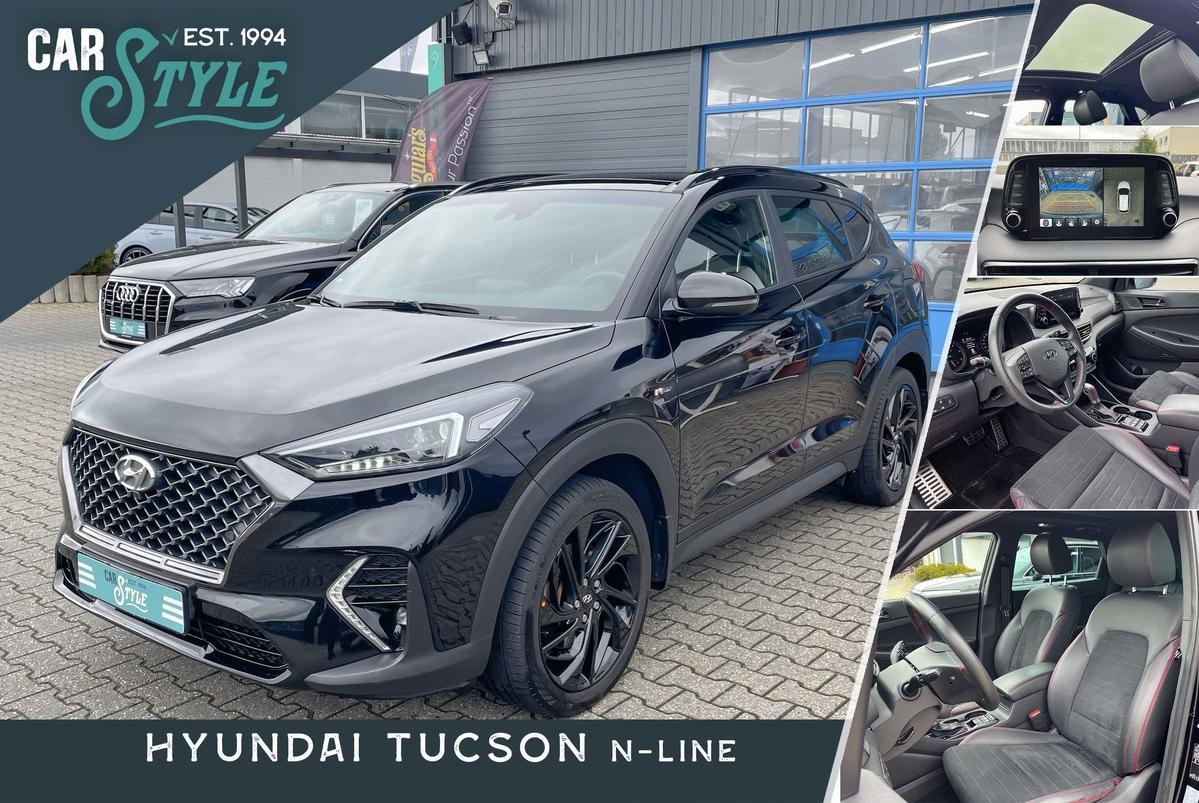 Hyundai Tucson N-Line 2.0 D 4ED LED Panor.. AHK NAVI SHZ PDC