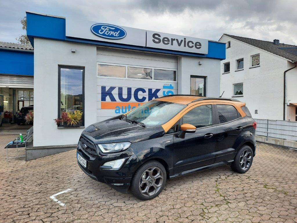 Ford EcoSport 125 Ps Ecoboost mit erst 4.500 Kilometer