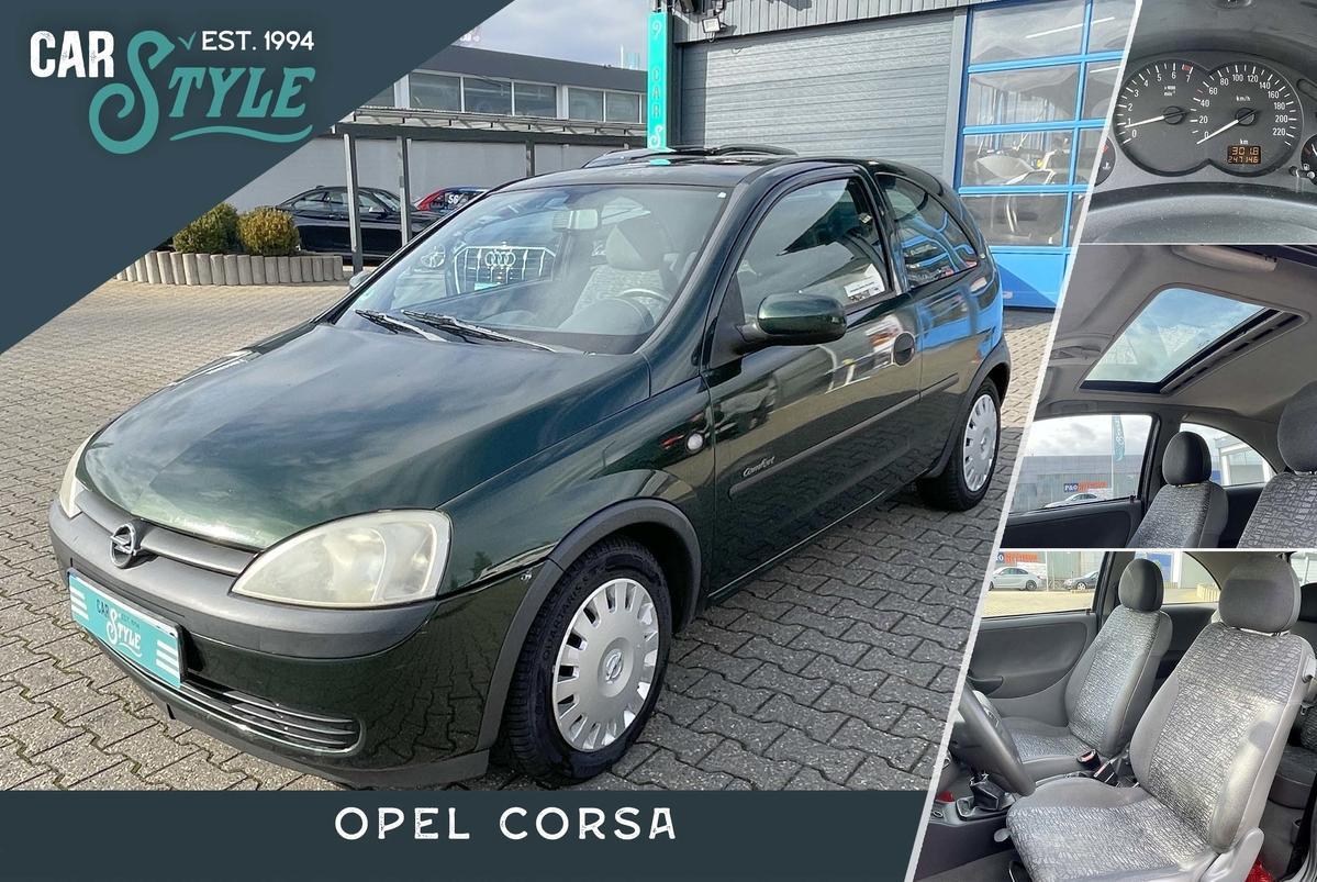 Opel Corsa C 1.0 Schiebedach Klima