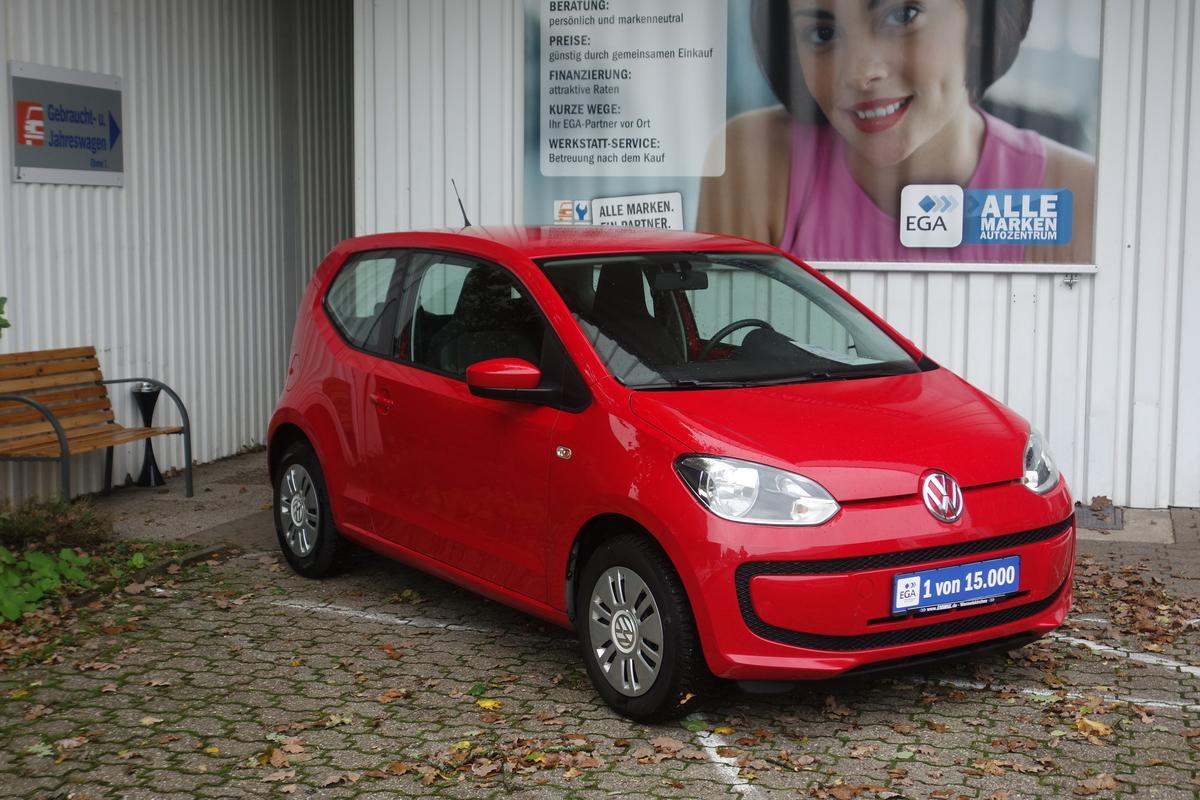 Volkswagen up! 1,0 COOL&SOUND KLIMA KOMFORT PAKET ERST 67 TKM