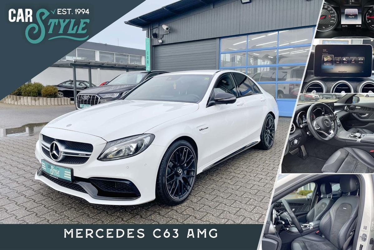 Mercedes-Benz C 63 AMG PERFORMANCE SHZ NAVI 360° LED