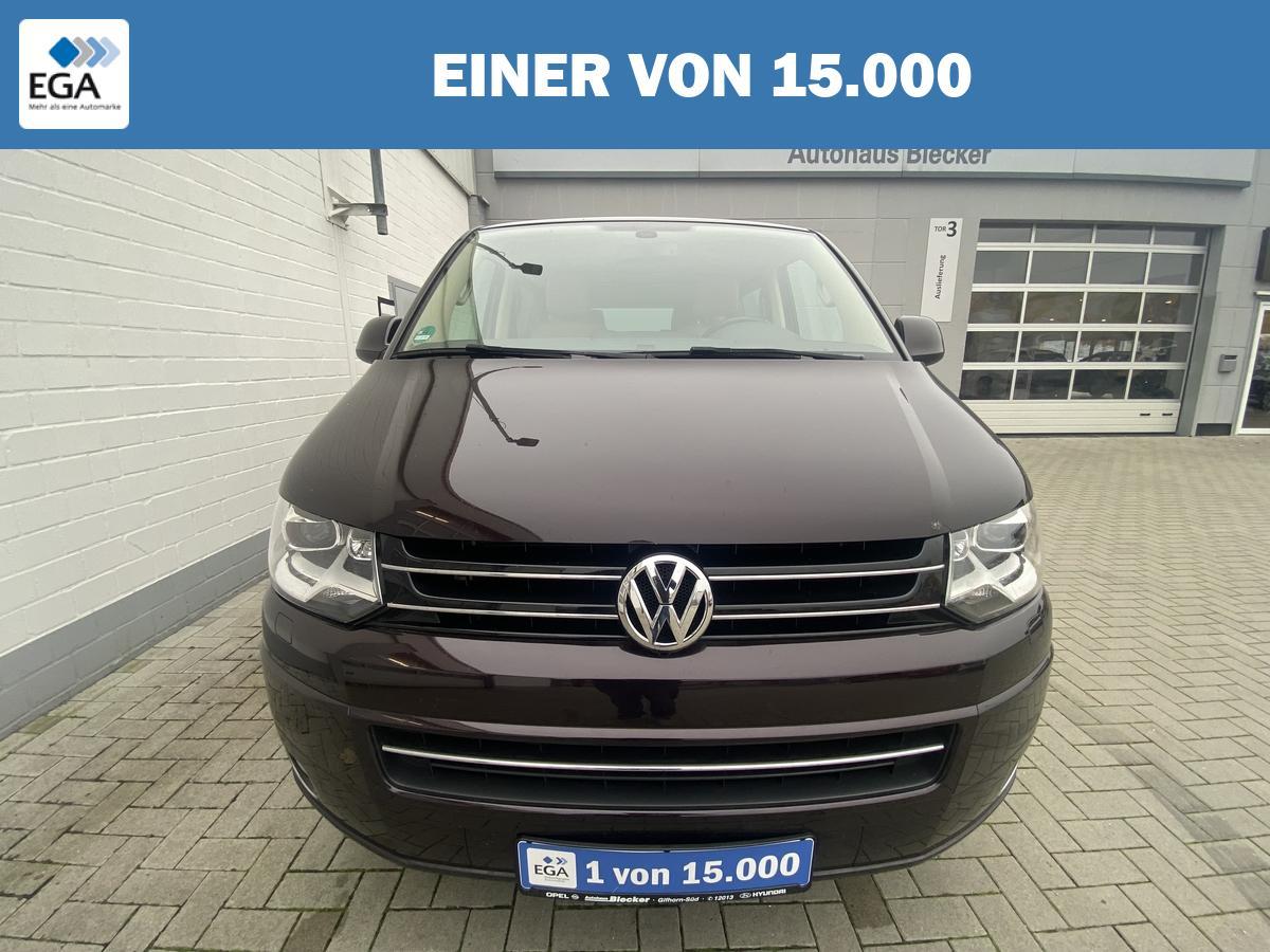 Volkswagen T5 Multivan Highline*DSG*Vollleder*Navi*Xenon*AHK*Standheizung*