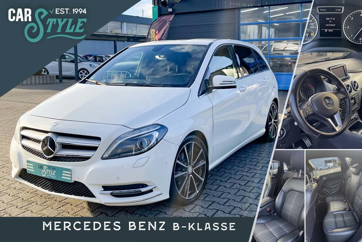 Mercedes-Benz B 180 Navi Euro5 LED R.Cam AMG Klimaautomatik