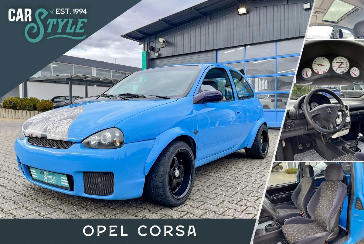 Opel Corsa B ECO Breitbau SHD Sportsitze MagnaFlow