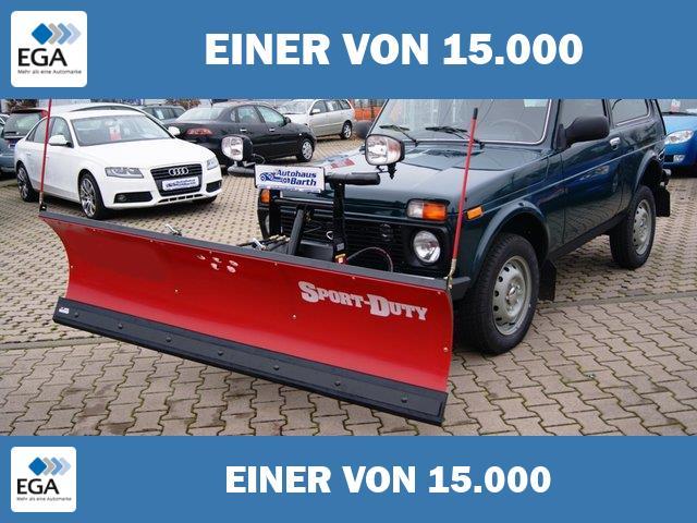 Lada Niva 1.7i 4x4 Winterdienst-umbau mit Pflug Bestellfahrzeug *