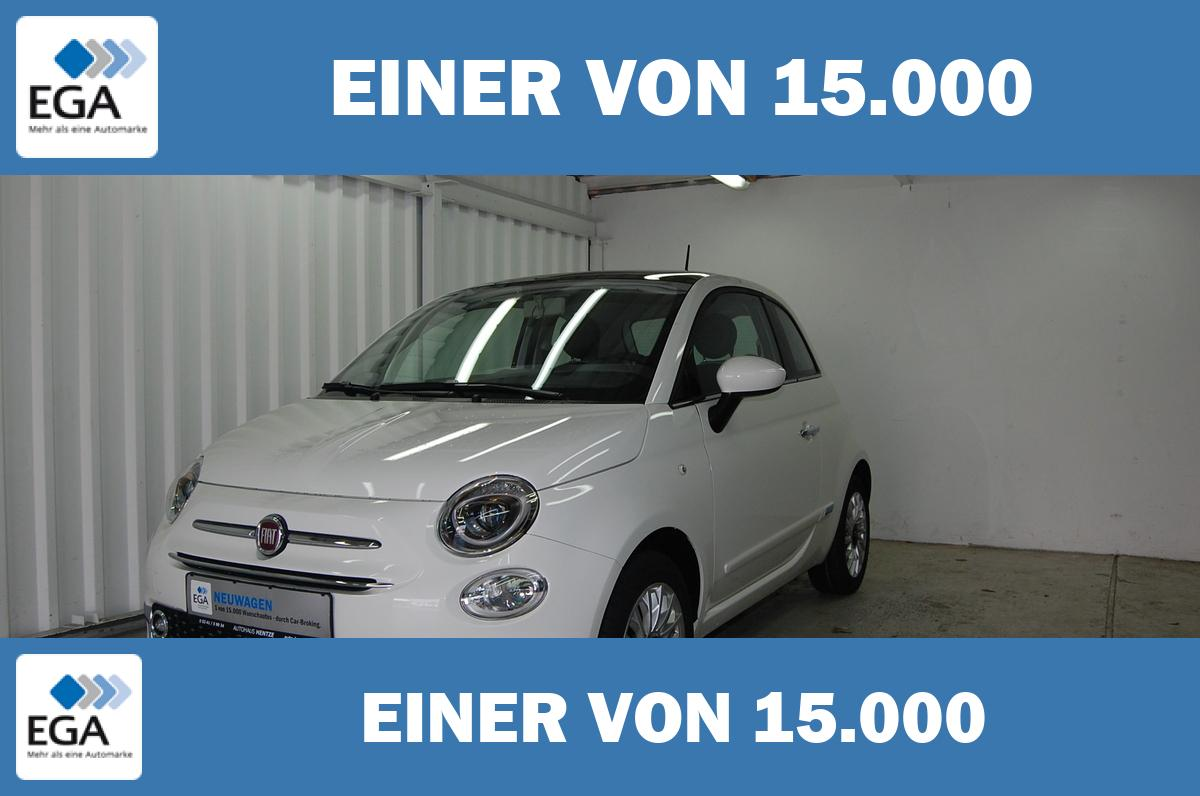Fiat 500  1.2 8V Lounge NEUES MODEL Panorama.Bluetooth