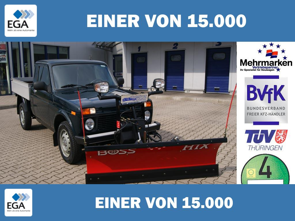 Lada Niva 1.7i 4x4 PICK UP  WINTERDIENSTUMBAU