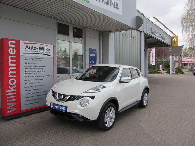 Nissan Juke 1.5 dCi Acenta-Klimaautomatik-Navi-Kamera-BTH
