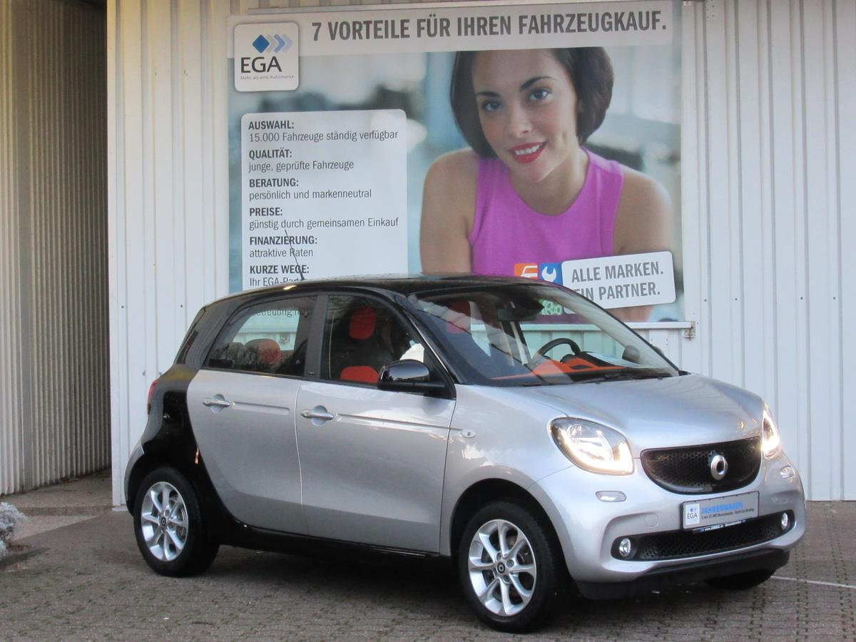 Smart ForFour Twinamic Cool & Audio PTS LED SITZHEIZUNG