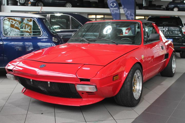 Fiat X 1/9 Bertone Targa 1,4 Turbo, Einzelstück alles eingetragen
