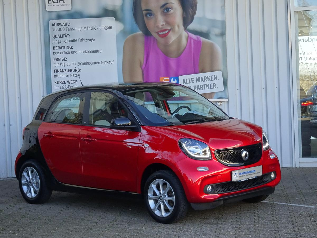 Smart ForFour Cool & Audio readyspace PTS SHZ LED Komfortpaket